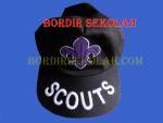 Bordir Topi Scout